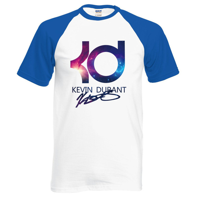 KD t shirt 2016 summer 100% cotton raglan t shirts men casual simple style  Kevin