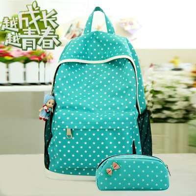 Bagpack kpop fashion brand candy color nylon cute printing ...