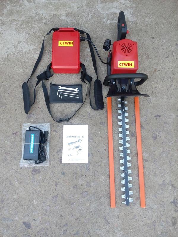 Nový výrobce Elektrické oboustranné nůžky na živé ploty / - Zahradní nářadí - Fotografie 1