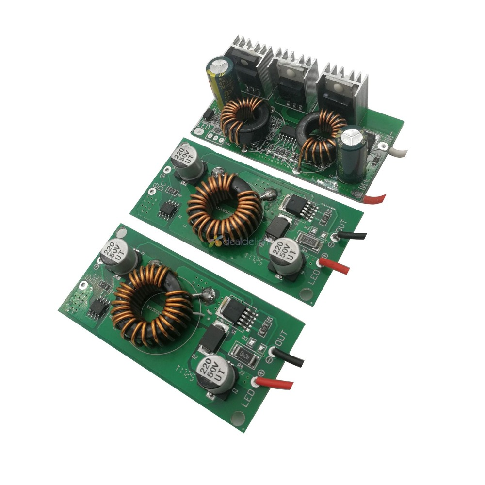 High Quality DC 12V - 24V to DC Constant Current LED Driver 20W 30W 50W DC input ower Supply for 20w 30w 50w led lamp стоимость