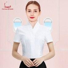 Stewardess uniform female professional suit summer fashion jewelry store sales office etiquette interview beautician