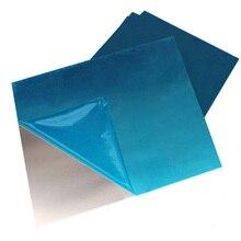 Алюминий 1060 лист T2* 200*200 мм Чистый Алюминий пластина DIY Материал для модельные автомобили лодка Строительная рама металлическая мягкая легкая