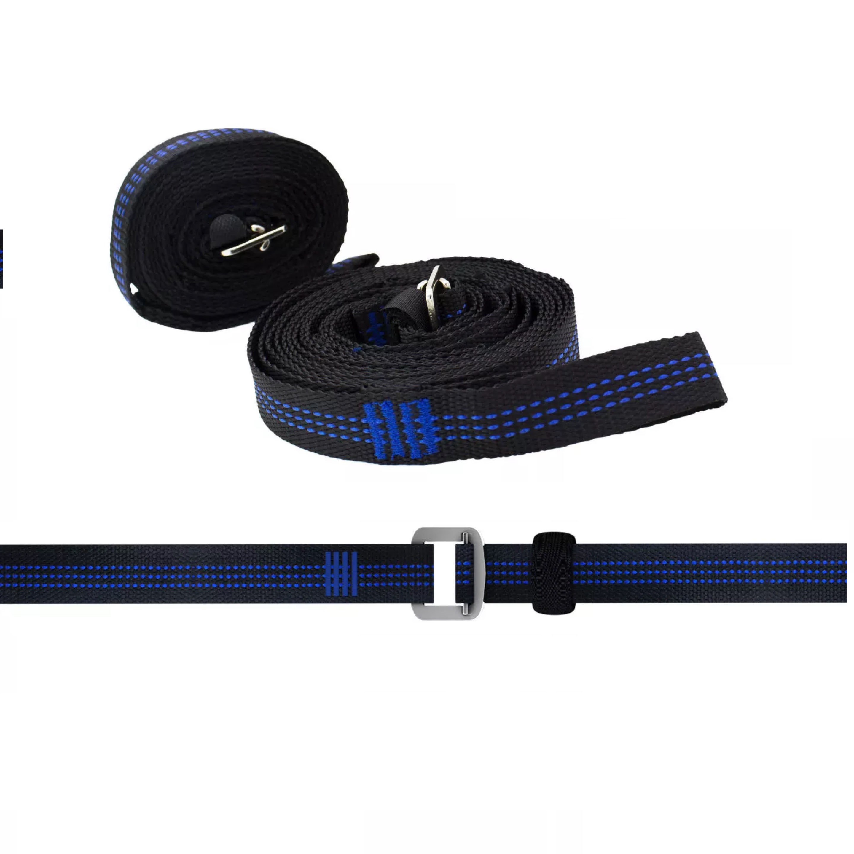 Custom No-stretch Polyester Adjustable Heavy Duty 850lbs Straps Hammock Straps With Adjustable Cinch Buckles