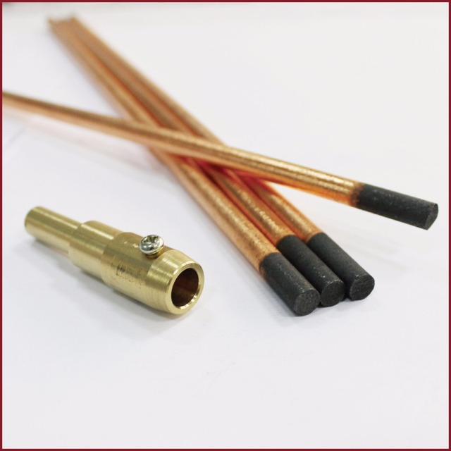Spot Welder Gun Carbon Electrodes Shrink Rod Copperclad