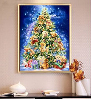 Full drill diamond painting DIY diamond painting cross stitch diamond embroidery cube diamond full embroidery Christmas gifts