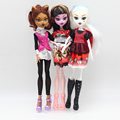 High Quality 1pcs New Fashion Moveable Joint Body Dolls set for Monster High dolls Girls Plastic Classic Toys er016