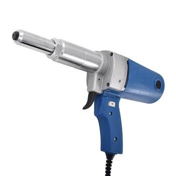 NEW Arrival P1M-SA3-5 Electric Rivet Gun 220v / 50HZ 400W Electric Riveter Gun Riveting Tool Pull Nail Gun 7000N 23MM Work Trip