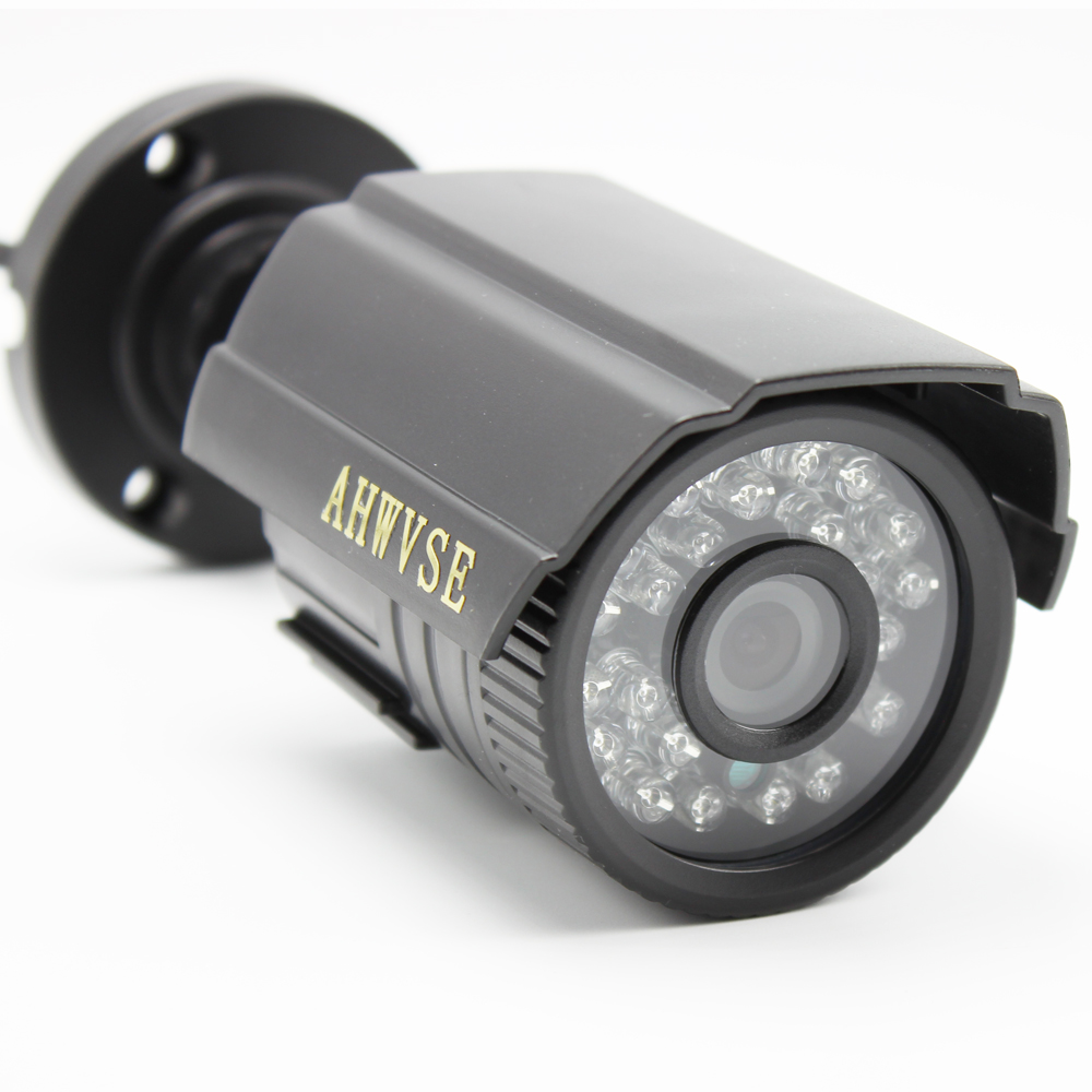 Cámara CCTV 1200tvl cámara de vigilancia de vídeo al aire libre analógica infrarroja IRCUT visión nocturna impermeable bala cámara de seguridad