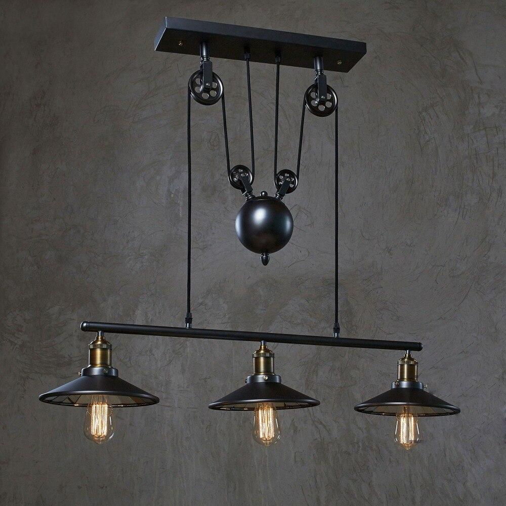 achetez en gros poulie luminaires en ligne des grossistes poulie luminaires chinois. Black Bedroom Furniture Sets. Home Design Ideas