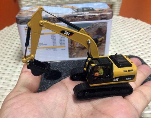 Caterpillar Cat 320D L Гидравлический Экскаватор Ho весы по бренд Diecast Masters 85262