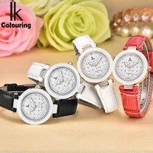 Ceramic Bezel Crystal Design Ladies Quartz Watches Women IK Colouring Sapphire Watches With Gift Box