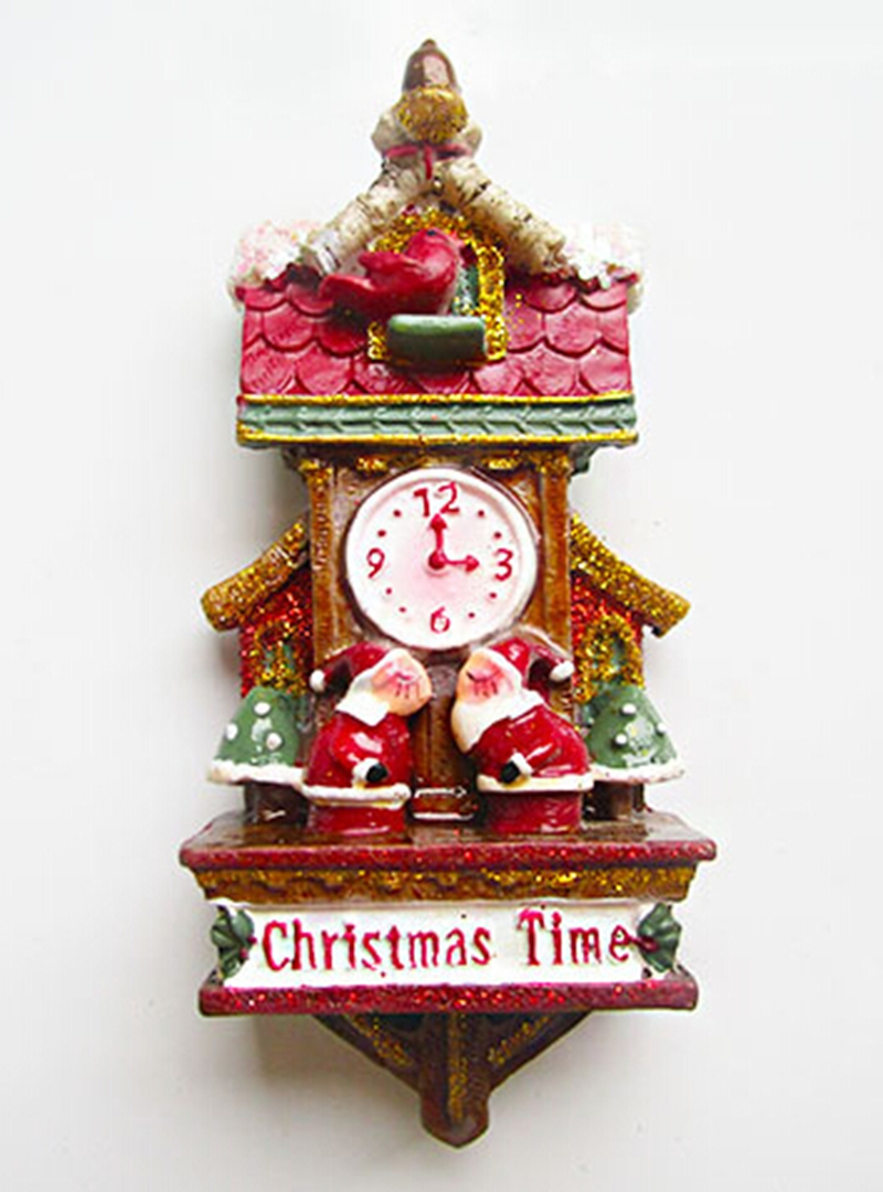 3 Home Decor Trends For Spring Brittany Stager: Vintage American Year Christmas Santa Clock Fridge Magnets
