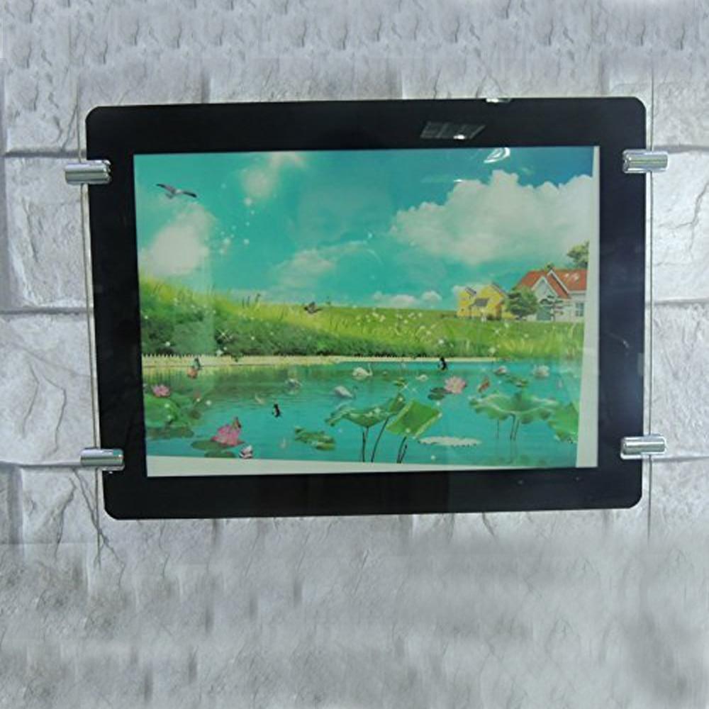 (4 Einheiten/Lot) Spezielle Verkauf Einseitig A4 FÜHRTE Magnetplatte Makler Display (NUR FÜR US KÄUFER)