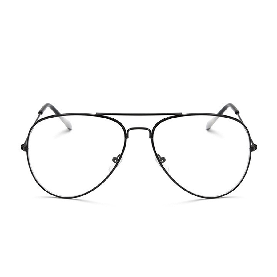 MOLGIRL Classic Gold Rahmen Klare Gläser Myopie Klaren Rahmen Gläser ...