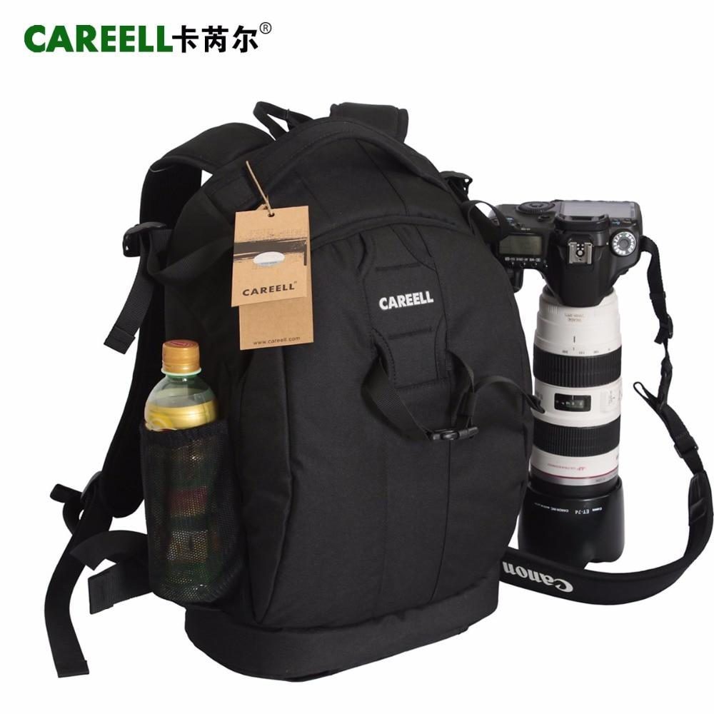 C1098  CAREELL Bag Camera Backpack DSLR Waterproof Soft Shoulders Men Women For Canon/Nikon