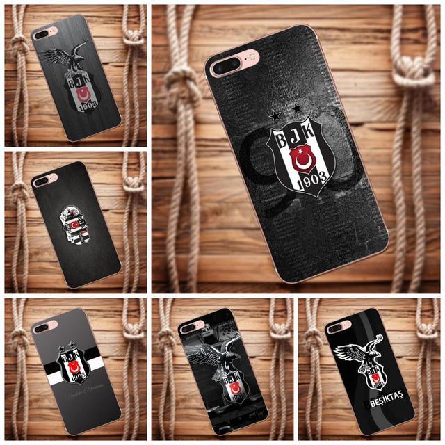 Multi Colors Luxury Phone Case Unique Snap On Besiktas Ataturk Black
