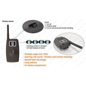 Image 4 - Bezprzewodowy Alarm zgryzowy zestaw wskaźników do połowu karpi B1203
