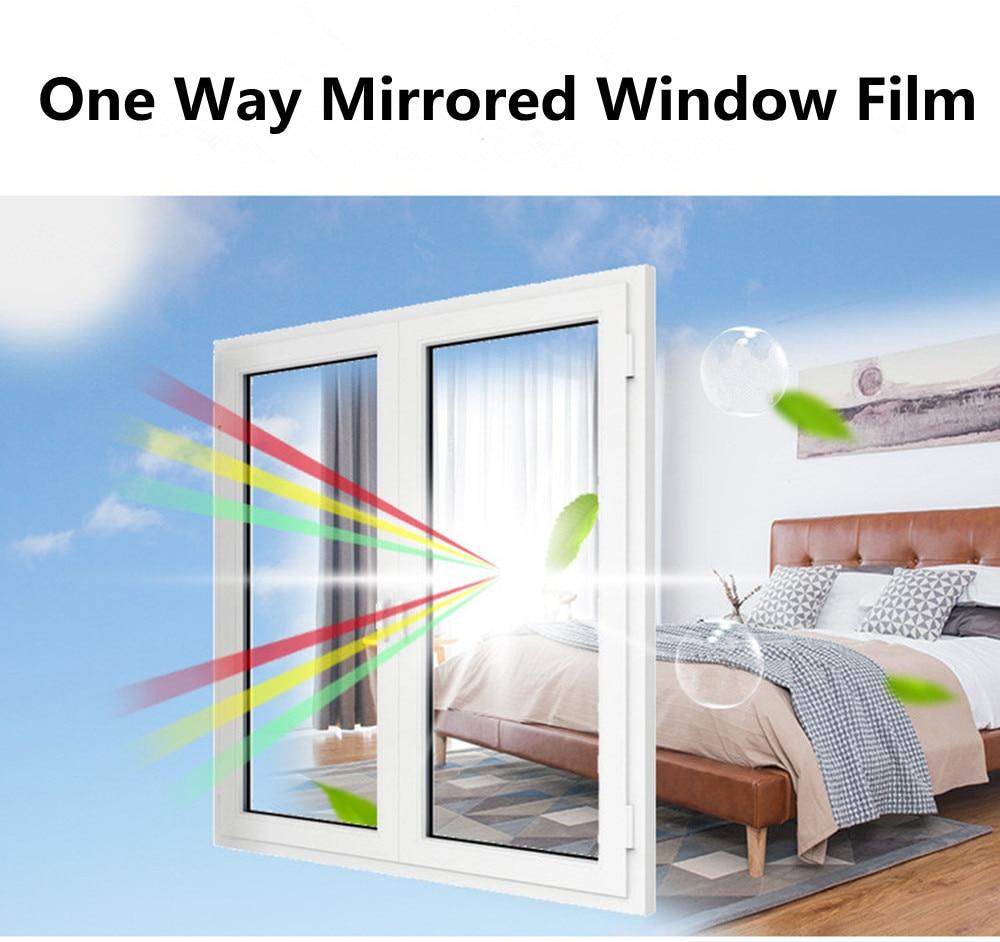 Window Film One Way Mirror Film Privacy Self Adhesive