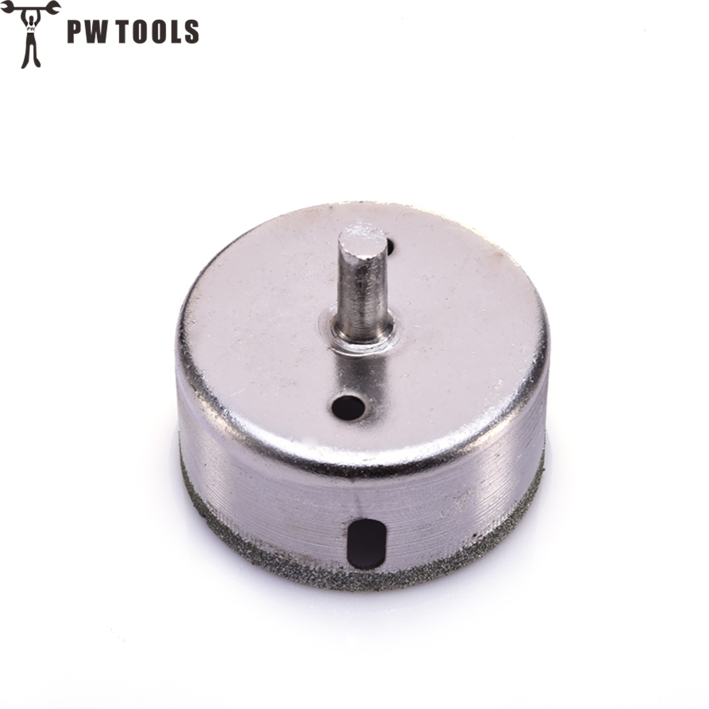 PW TOOLS 60mm Diamond Coated Drill Drills Bit Hole Saw Core Marble Glass Granite Tools сумка pw messenger pw 003
