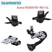 شيمانو أكيرا M3000 Derailleur شيمانو أكيرا ترقية الجبهة والخلفية مجموعات لسرعة الدراجة الجبلية MTB 27s-في صندوق المسننات للدراجة من الرياضة والترفيه على