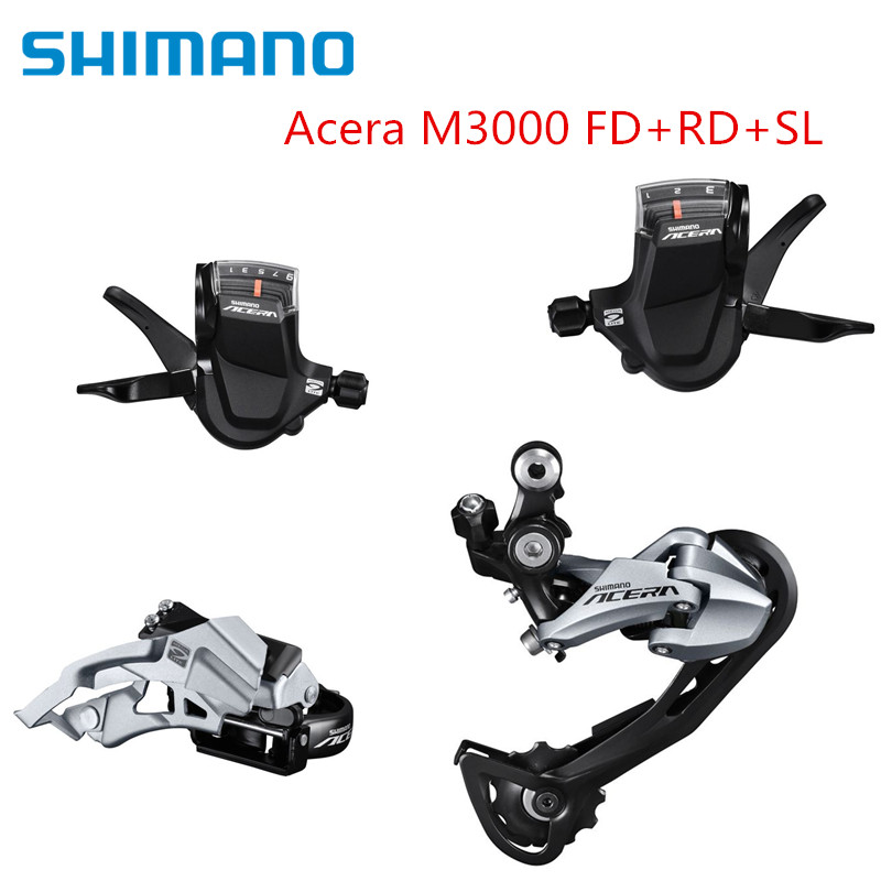 SHIMANO Acera M3000 Derailleur Shifter Front And Rear Upgrade Kits For MTB Mountain Bike 27s SpeedSHIMANO Acera M3000 Derailleur Shifter Front And Rear Upgrade Kits For MTB Mountain Bike 27s Speed
