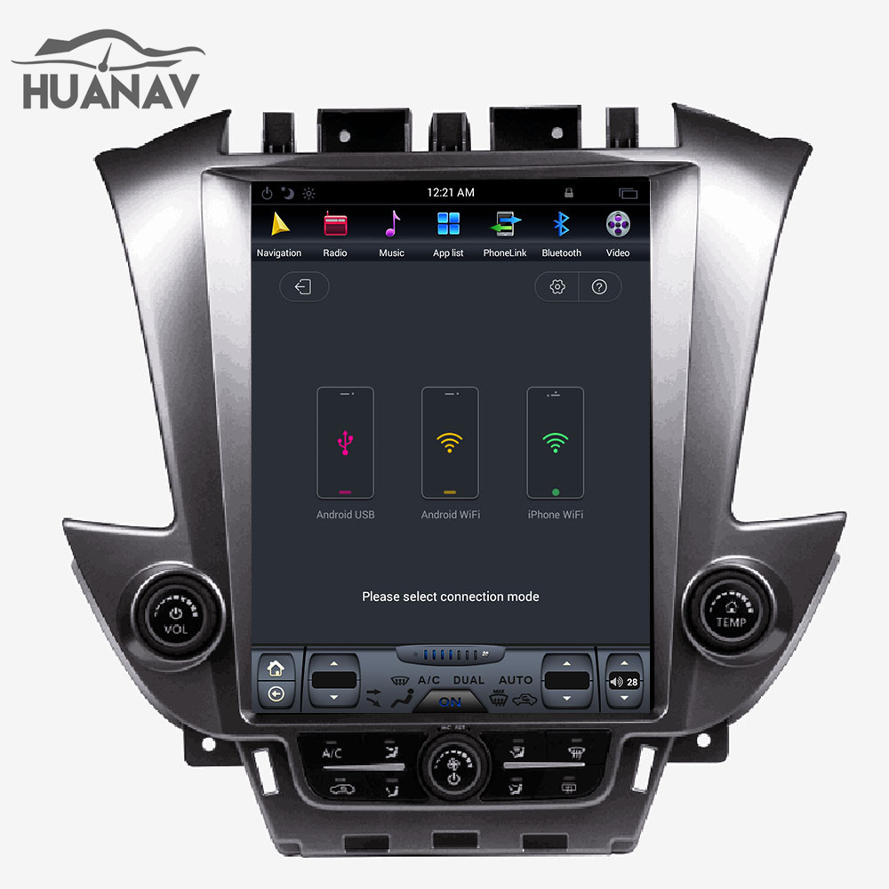 Tesla style Android7 1 Car radio Player GPS Navigation For Chevrolet Tahoe  Suburban 2015+car head unit stereo multimedia player