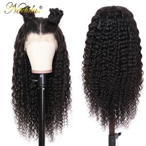 Image 2 - Nadula 머리 13*4/13*6 딥 웨이브 레이스 프런트 인간의 머리가 발 여성을위한 브라질 레미 헤어 스위스 레이스가 발 평균 크기