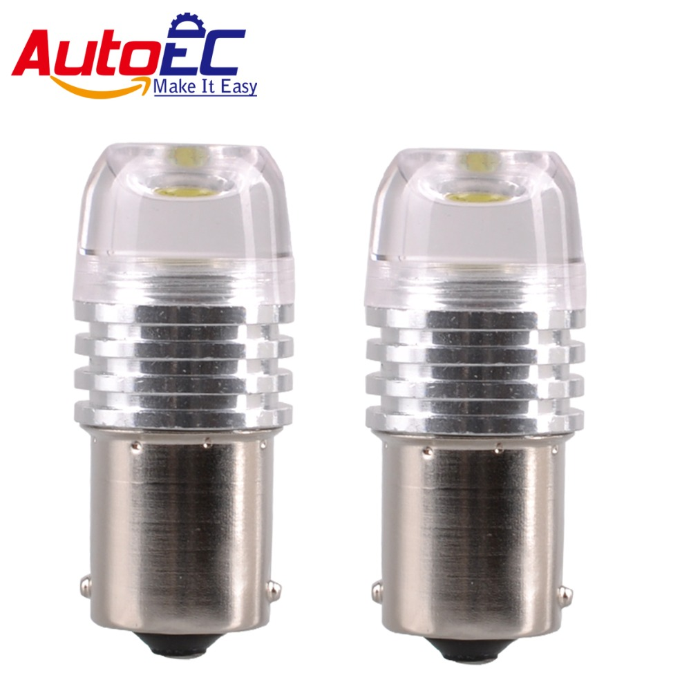 AutoEC 1156 1157 ba15s bay15d 3w COB lens Strobe Brake Lights Bulb Flash  Stop Lamp Flashing Turn signal lamps #LF77 -in Signal Lamp from Automobiles  ...