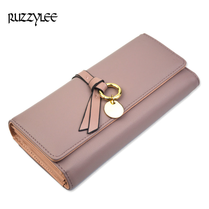 New Wallet Women Long Hasp Luxury Ladies Purse Leather For Womens Wallets Designer Purses Female Phone Pocket Clutch Card Holder luxury brand women wallets business wallet long designer double zipper leather purses id card holder purse phone case clutch