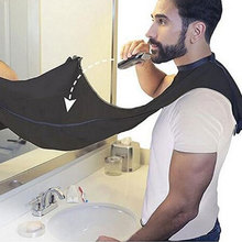 Men's Beard Catcher Whiskers Shave Gather Barber Apron Cloth Cape Barbers Adults Beard Shave Haircut Apron