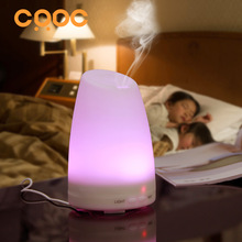 CRDC Ultrasonic Air Aroma Humidifier 100ml With Changing 7 Color LED Lights Electric Aromatherapy Essential Oil Aroma Diffuser