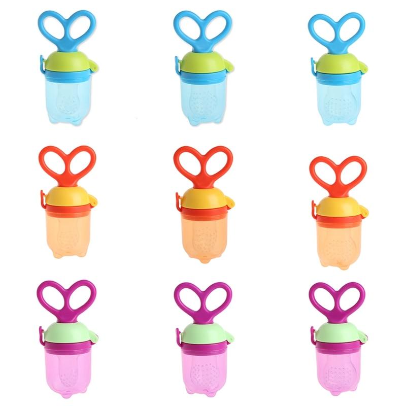 Baby Fresh Food Milk Nibbler Feeder Kids Nipple Feeding Pacifier Bottles J24