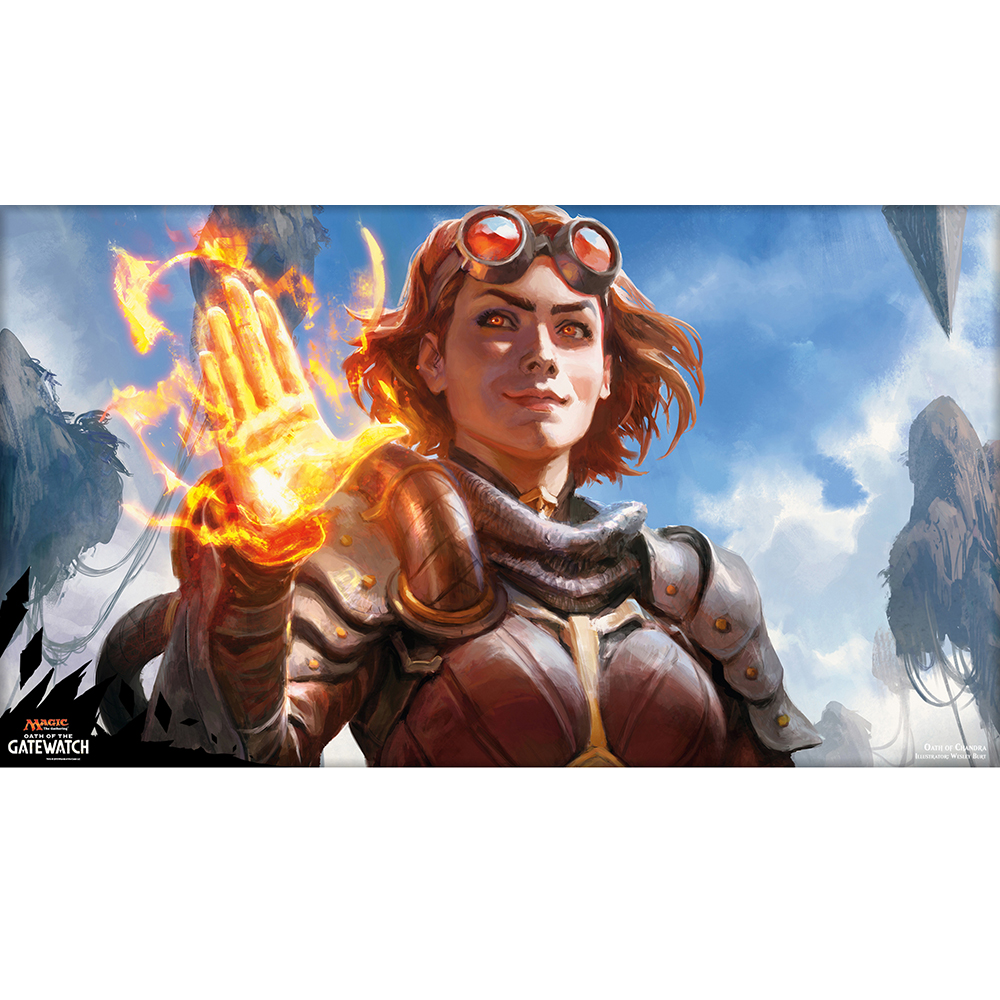 ( Oath of Chandra )Limited Edition 35X60CM MGT Game Playmat MGT Cards Game Playmat Can be Custom Printed