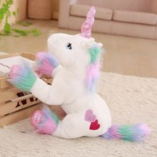 Fluffy Unicorn Plush Toy