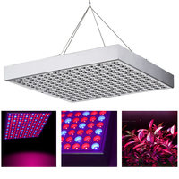 15W 45W LED Grow Light Full Spectrum Panel AC90~260V Greenhouse Horticulture Grow Lamp for Indoor Plant Flowering Growth