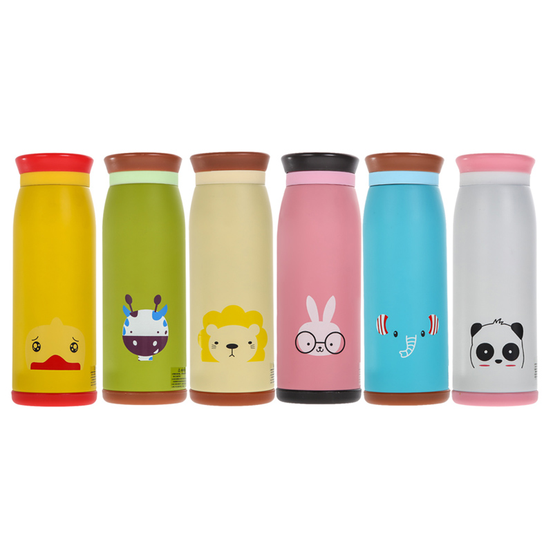 500ml Thermos Heat Insulated Vacuum Cup Stainless Steel Drink Water Bottle Vacuum Cup Travel Outdoor Office