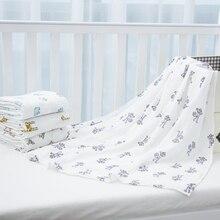 Новый младенческая одеяло Мягкого Хлопка Новорожденный Ребенок Полотенце лето Пеленание Одеяла Мульти Функции Детское постельное белье Wrap пеленать(China (Mainland))