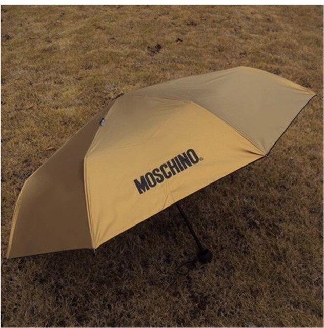 2017 известных брендов три складные зонты подарок к празднику друг и подруга складной зонт для мужчин и женщин