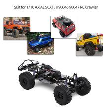 LeadingStar 313mm 12.3 inch wheelbase assembled frame chassis for 1/10 RC tracked vehicles SCX10 SCX10 II 90046 90047