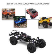 LeadingStar chasis de Marco ensamblado, 313mm, 12,3 pulgadas, para vehículos oruga 1/10 RC SCX10 SCX10 II 90046 90047