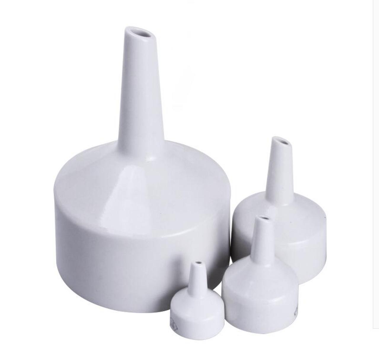 O/D 40mm Porcelain Buchner Funnel Lab Glassware Chemistry Laboratory Sphere Funnel Filtration Filter Kit Tools