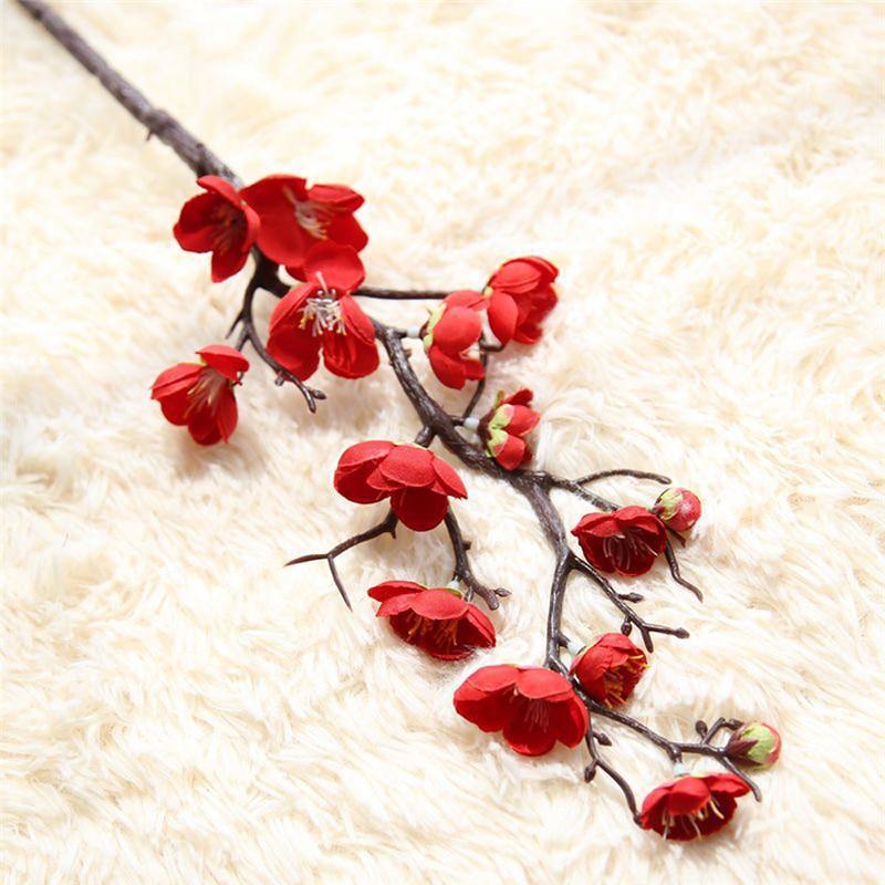 Hot Sale Artificial flowers Plum flower Artificial plants tree ...