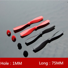 2 Pairs Prop CW CCW Plastic PropellerBlade Propel for RC Airplane Aircraft Quadcopter Part