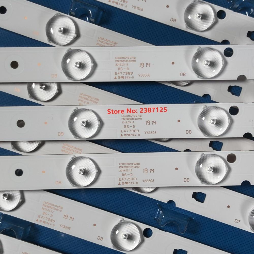 LED Backlight Strip 10Lamp LED315D10-ZC14-07(A) 30331510213 LED315D10 LE32D8810 MTV-3229LTA2 For LE32A7100L  32PAL535 LE32B310N