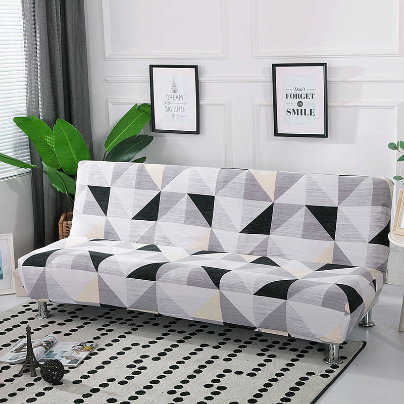 All-inclusive Folding Sofa Bed Cover Stretch Couch Cover Without Armrest Folding Cover For Sofa Bed 160-190cm Cubre Sofa