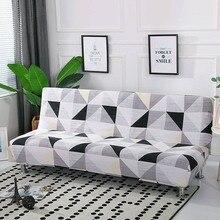 Funda de sofá cama plegable, funda de sofá elástica sin reposabrazos, cubierta plegable para sofá cama de 160 190cm