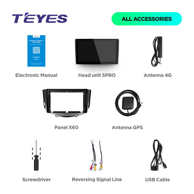 TEYES SPRO For Lifan X60 2012 2013 2014 2015 2016 Car Radio Multimedia Video Player Navigation GPS Android 8.1 No 2din 2 din dvd