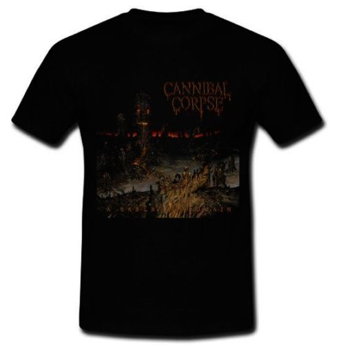 Quality Shirts New Style Cannibal Corpse death metal band A Skeletal Domain T-shirt Tee Sz S M L XL 2XL