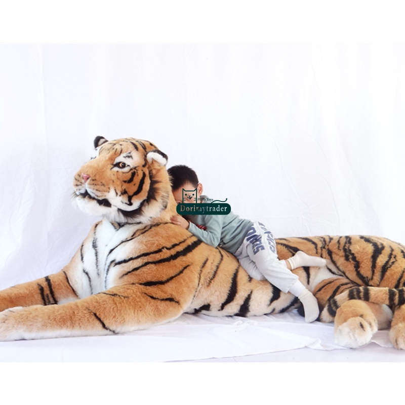 Dorimytrader Simulation Domineering Animal Tiger Plush Toy Large