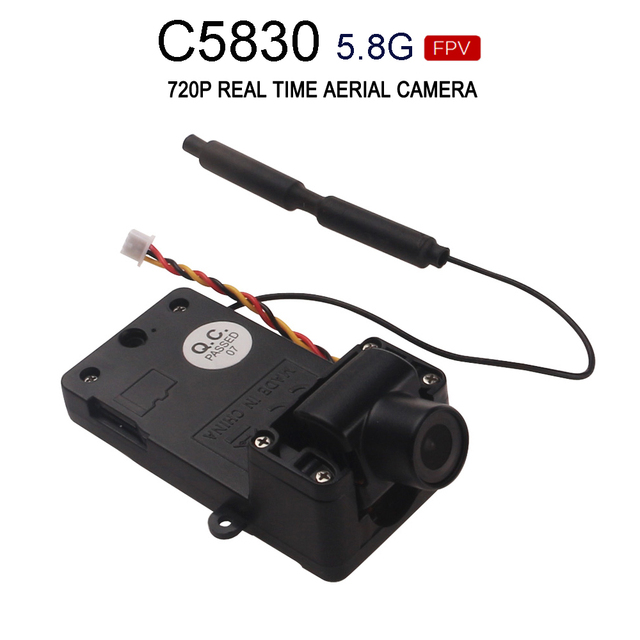 MJX C5830 Camera 5.8G FPV 720P real-time image 300m Quadcopter Spare Parts for MJX Bugs 6, B6 B8 B9 Brushless RC Drones